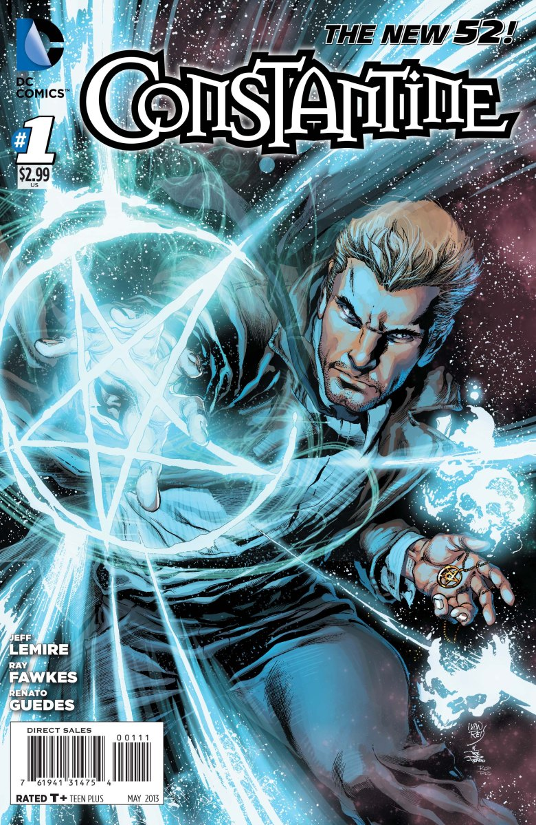 Constantine #1: Byronic or Ball-less? (A review)
