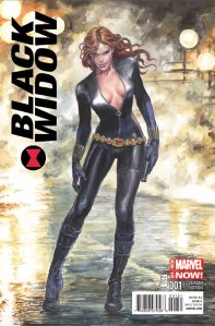 Black Widow #1 Manara Variant