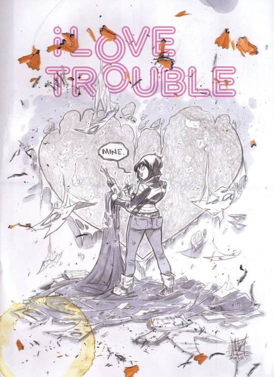 Advance Review: I Love Trouble TP