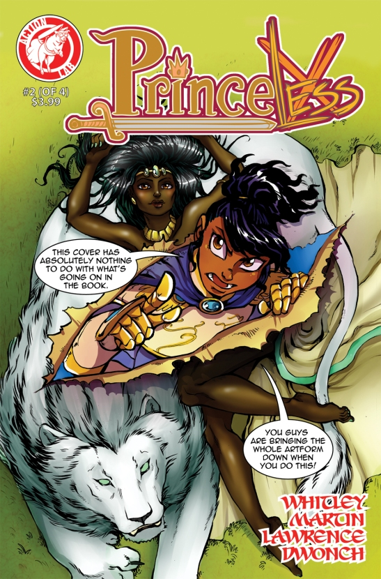 Story: Jeremy Whitley Art: Emily Martin Colors: Kelly Lawrence Letters; Dave Dwonch